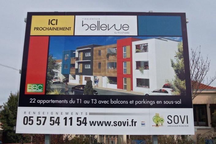 panneau immobilier