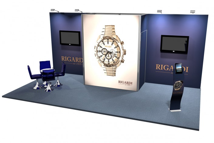 Stand 18m2